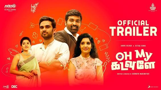 Ashok Selvan, Vijay Sethupathi's Oh My Kadavulae Trailer