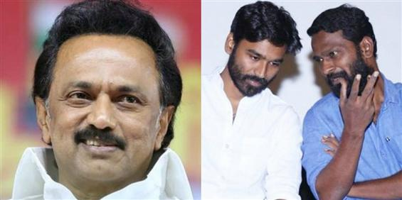 """""""Asuran is not just a film, but a lesson"""": MK Stalin heaps praises on Dhanush and Vetrimaaran"""