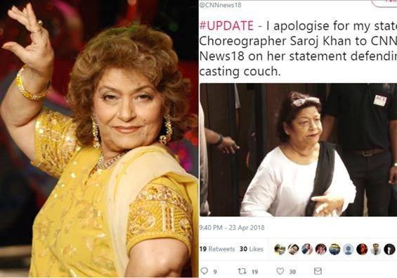 News Image - Atleast casting couch in film industry puts food on the table: Bollywood Choreographer Saroj Khan defends & then regrets image