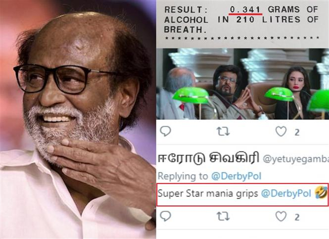 Australian Police use a Rajinikanth meme & the Indian Internet looses its chill!