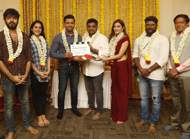 AV 31: Arun Vijay, Ariviazhagan film launched with a pooja