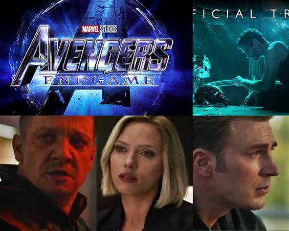 Avengers 4 titled Avengers: End Game! Official Tra...