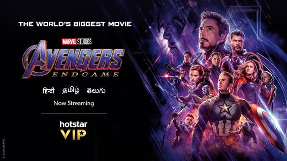 Avengers: Endgame now on Hotstar Premium!