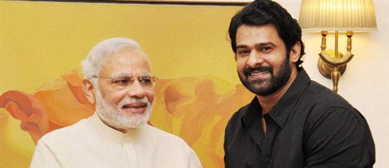 'Baahubali' actor Prabhas meets PM Narendra Modi