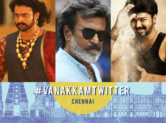 Baahubali, Mersal, Kaala most talked about on twitter: Vanakkam Twitter Event Highlights