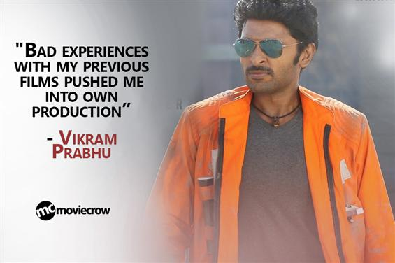 """""""Bad experiences with my previous films pushed me ..."""