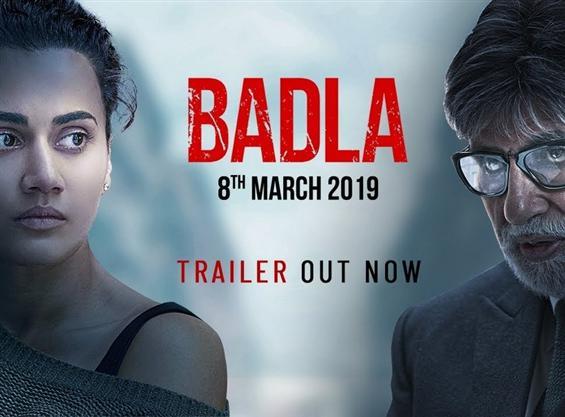 Badla Trailer feat. Amitabh Bachchan & Taapsee Pan...