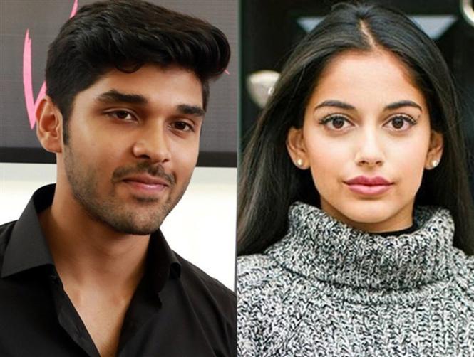 Banita Sandhu opposite Dhruv Vikram in Varmaa Reboot!