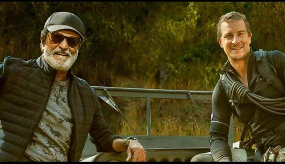 Bear Grylls releases teaser of Rajinikanth's Disco...