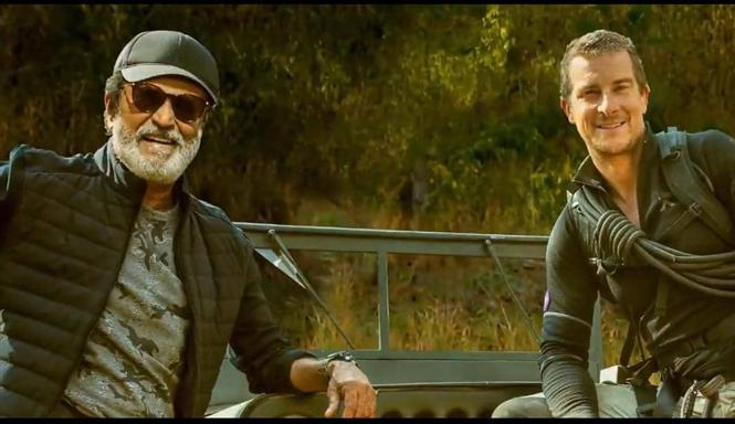 Bear Grylls releases teaser of Rajinikanth's Discovery TV debut!
