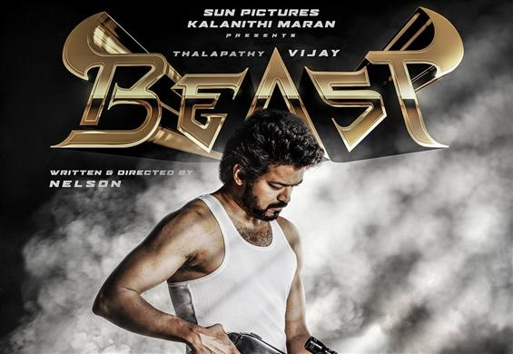 Beast is the title of Thalapathy 65!
