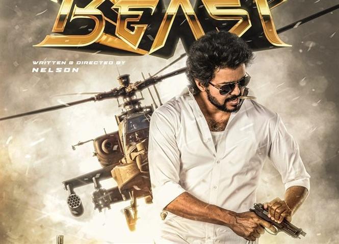 Beast Second Look unveiled for Vijay's birthday!