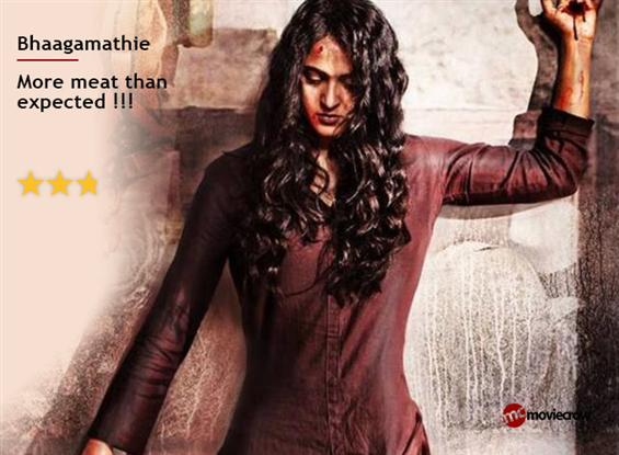 Bhaagamathie Review -  More meat than expected
