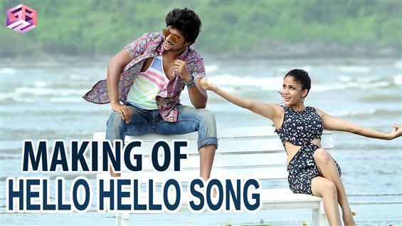 Bhale Bhale Magadivoi -  Making of Hello hello Song