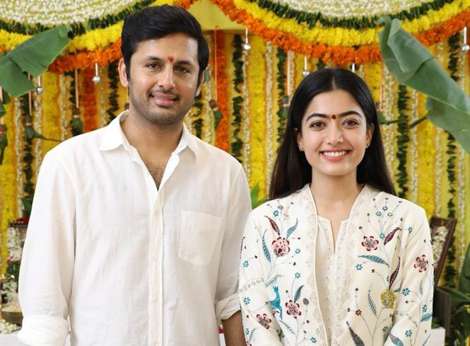 Bheeshma: Nithiin, Rashmika's new film officially launched, to go on floors this month