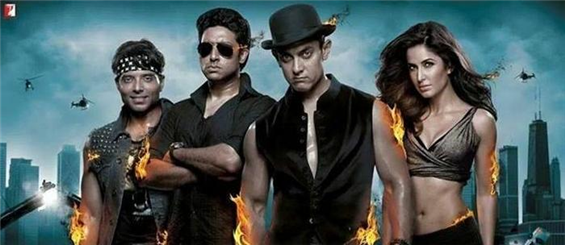 Biggest ever release for Aamir Khan Dhoom 3 in China