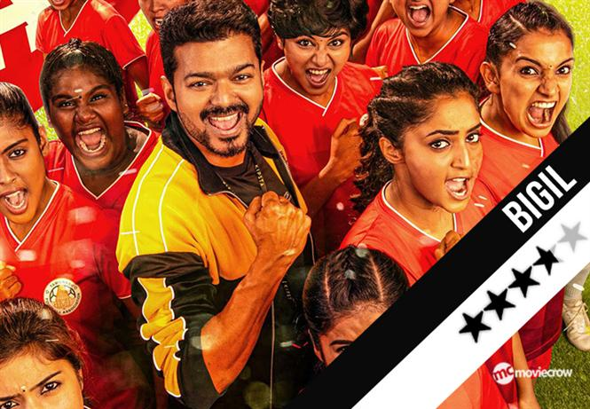 Bigil Review - Vijay excels in his career-best movie