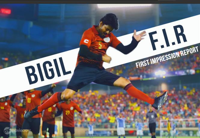 Bigil Trailer - FIR (First Impression Report)