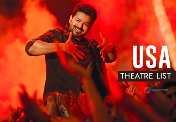 Bigil USA Theatre List