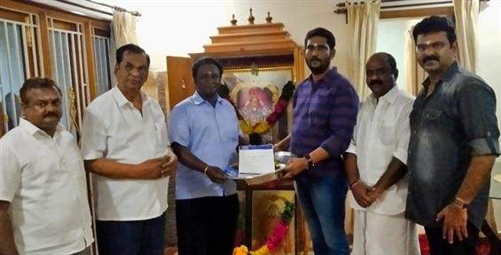 Blue Sattai Maran's debut film to be backed by Maa...