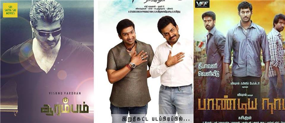 Box Office - Aarambam, Azhaguraja, Pandiyanadu