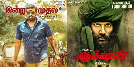 Box Office: Action, Sanga Thamizhan TN Opening Weekend Report