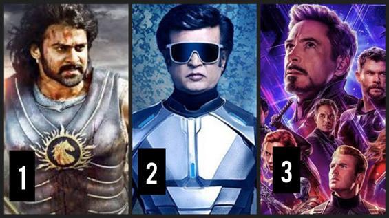 Box Office: Avengers Endgame is only Behind Baahubali 2 and Rajini in India!