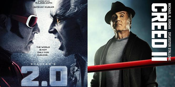 Box Office: Rajinikanth's 2.0 wins over Sylvester Stallone's Creed II at the UAE Box Office