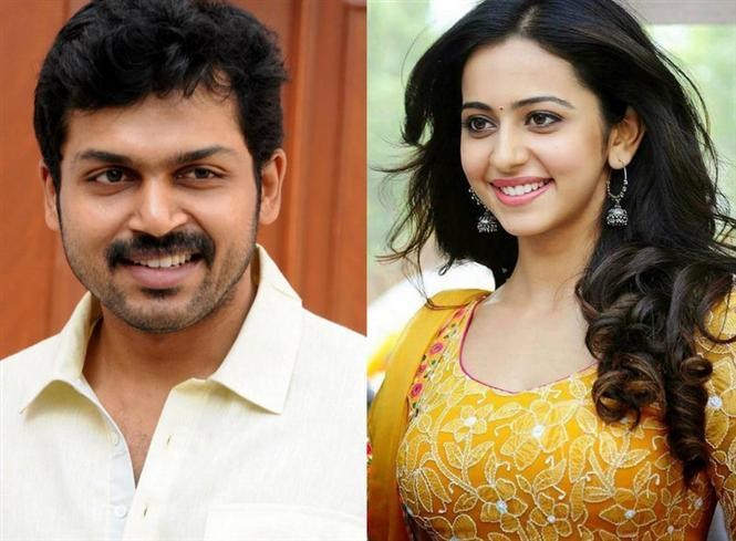 Breaking - Karthi to team up with Rakul Preet Singh Tamil