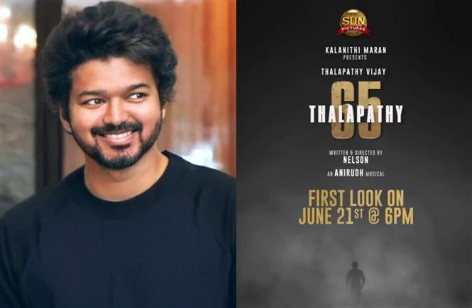 Breaking: Thalapathy 65 First Look Release Date, Time Out!