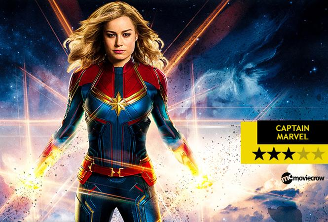 Captain Marvel Review - Woman Power all the Way
