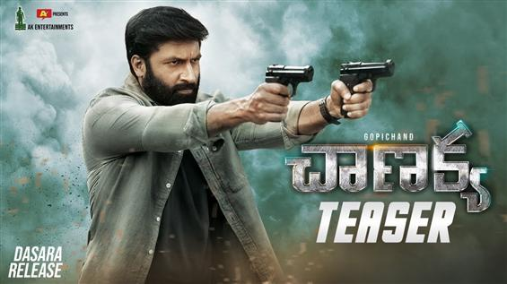 Chanakya Teaser: Gopichand's spy thriller as a RAW...