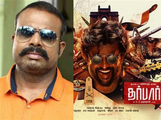 Chemban Vinod Jose to lock horns with Rajinikanth in Darbar!