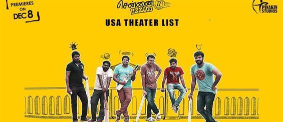 Chennai 28 Part 2 - USA theatre list