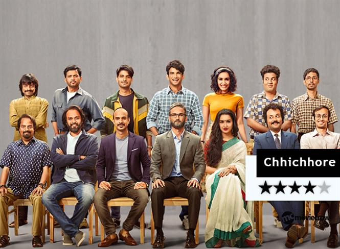 Chhichhore Movie Review - A wondrous, highly enjoyable throwback to our heydays!