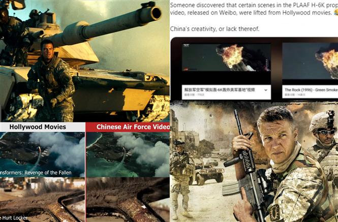 China gets mercilessly mocked for using Hollywood film clips to threaten USA!