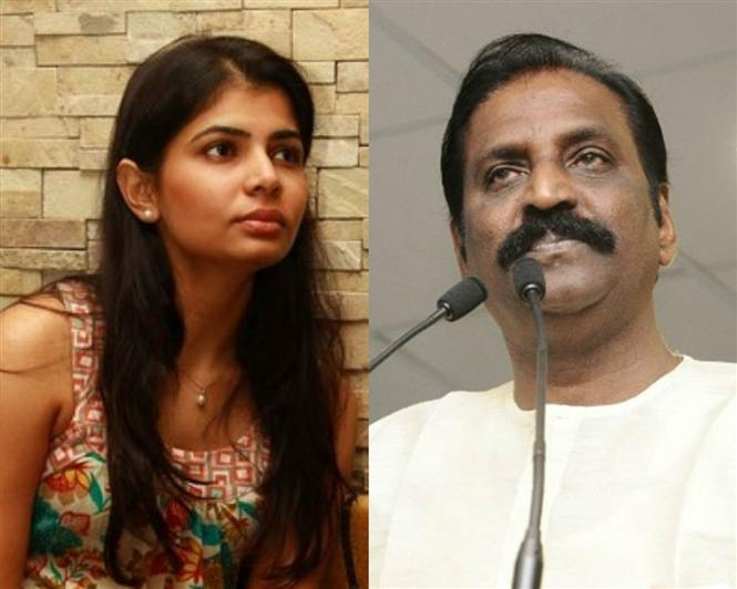 Chinmayi warned for her stance against Vairamuthu: Kollywood comes out in support!