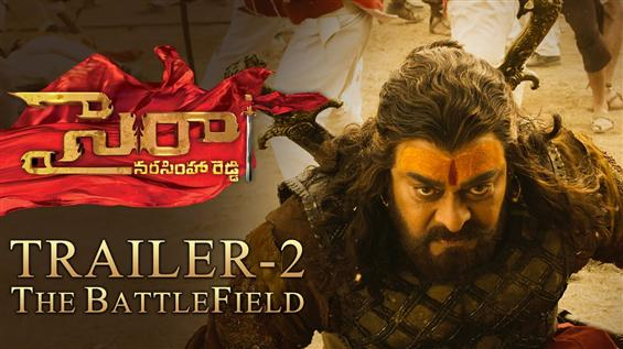 Chiranjeevi starrer Sye Raa Trailer 2 - The Battlefield