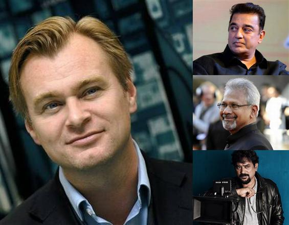 Chirstopher Nolan's India Visit to be flanked by Mani Ratnam, Kamal Haasan, Santhosh Sivan among others