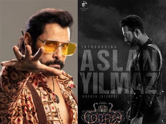 Cobra: Irfan Pathan is Aslan Yilmaz in Vikram's fi...