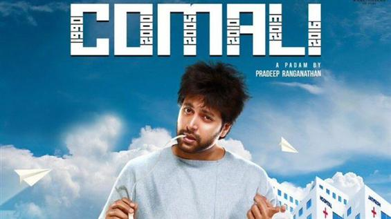 Comali Registers a Blockbuster opening for Jayam R...