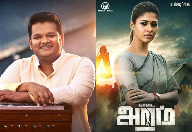 Composer Ghibran to score music for Nayanthara starrer Aramm