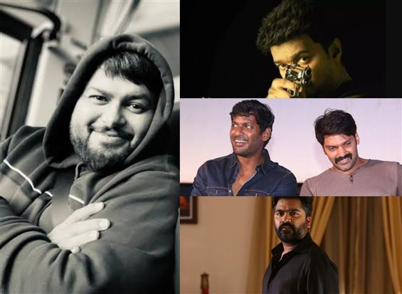 Composer Thaman on a roll! Signs back-to-back Tami...