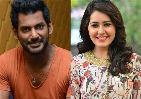 Confirmed - Vishal, Raashi Khanna team up for AR M...