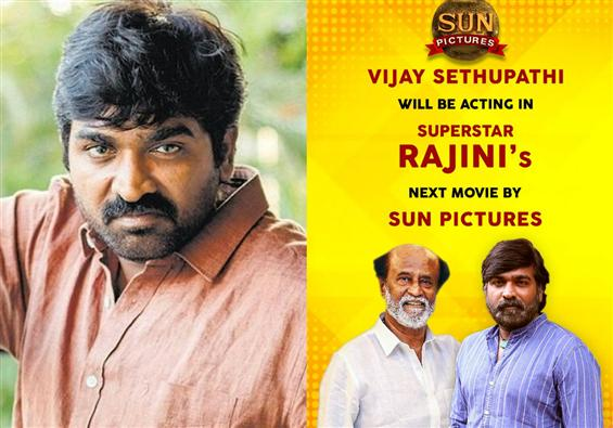 Confirmed-Vijay Sethupathi it is for Rajinikanth's...