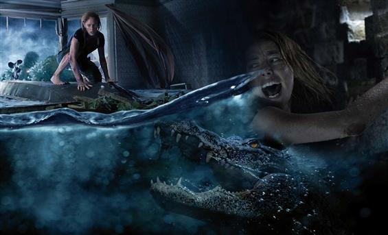 Crawl Movie Review - A surprisingly solid crocodil...