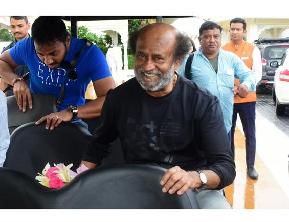 Darbar: Rajinikanth begins shooting at Jaipur