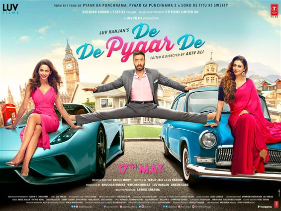 De De Pyaar De First Look ft. Ajay Devgn