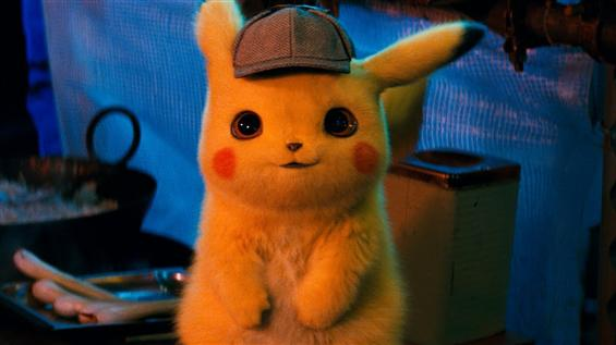 Detective Pikachu Trailer feat. a funny sounding P...