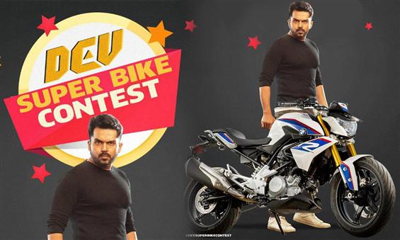 Dev Super Bike Contest: Steps to win Karthi's BMW ...